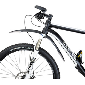 Topeak Defender M1 & XC11 Mudguard Set 29 inches, black